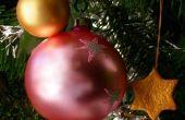 Het hele jaar door gebruik van kerstverlichting