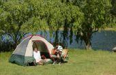 Hoe krijg ik een Tent terug in een zak