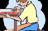 Hoe maak je een tabel van keramische tegels