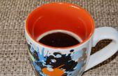 Hoe koffie langer Warm houden
