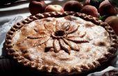 U het ontdooien van bevroren perziken voor het bakken van een taart?