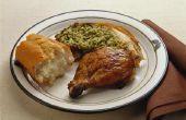 Duurt het langer om een gevulde kip bakken?