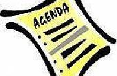 Het instellen van een Agenda voor een vergadering