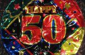 Diner ideeën voor een 50e verjaardag