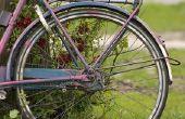 Hoe te repareren van een lederen Bike zitting