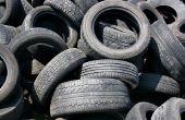 Dingen die kunnen worden gemaakt uit gerecycleerde banden