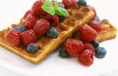 Kan ik honing gebruiken in plaats van suiker te maken van wafels?