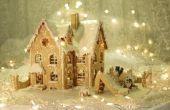 Decoraties te maken een huis Look zoals een peperkoek huis