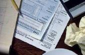 Hoe te File van belastingen op geld van de erfenis