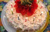 Hoe maak je een zelfgemaakte verjaardagstaart
