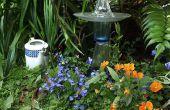Hoe maak je een glas tuin Totem
