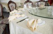 Hoe voor het hosten van een huis bruiloft receptie
