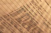 Hoe de berekening van de totale aanpassing van de belastingen in een geblokkeerde rekening