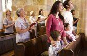 Ideeën voor een nieuwe dienst van de kerk toewijding