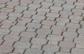 Hoe te verwijderen van de schimmel op baksteen straatstenen