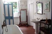 Een antieke lavabo omzetten in een gootsteen