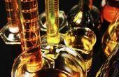 De namen van chemie kolven