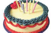Het aanpassen van verschillende soorten Cakes van de fabelachtige Fourth of July