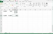 Hoe schrijf je Percentage formules in Excel