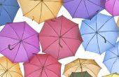 Hoe te te verfraaien een paraplu voor een Baby Shower