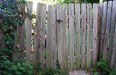 Hoe te repareren van een verzakking Gate