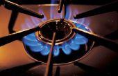 Hoe schoon een LG gasfornuis Cook Top met borrelen onder de brander
