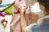 Hoe maak je een rok van elastisch tabel