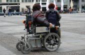 Hoe aan een rolstoel in een klaslokaal