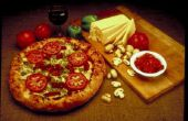 Hoe Grill met een Pizza steen en houtskool