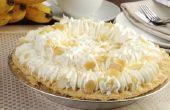 Hoe te bevriezen Banana Cream Pie