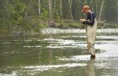 Hoe te vangen rivier Smallmouth Bass