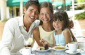 Hoe te leren van een kind goed Restaurant gedrag