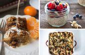 Makkelijk en lekker ontbijt recepten om de avond tevoren