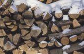 How to Build een dak voor een houder van brandhout