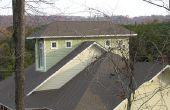 Hoe te verwijderen zwarte vlekken van dakshingles