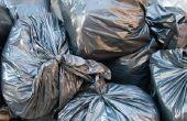 De effecten van afval op plantengroei