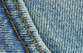 Draad breedte & spanning voor naaien Jeans