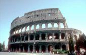 Hoe maak je een Romeinse Theater van karton