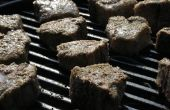 Hoe Barbecue vlees zonder been ribben