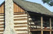 Hoe te isoleren van een Log Home