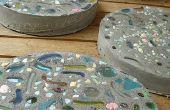 Hoe maak je een trottoir met River Rock & Stepping Stones