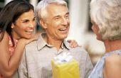 De ideeën van de gift voor oudere mannen