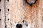 DIY rustieke houten deuren