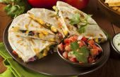 Hoe te eten een Quesadilla