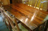 Hoe te poetsen houten meubelen met staal wol