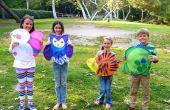 Hoe maak je een vlieger papier voor kinderen