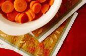 Hoe kook rauwe wortelen