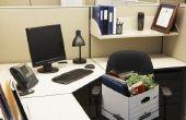 Hoe meet je een L-vormige bureau