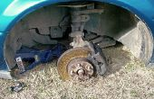 Hoe te repareren van een kromgetrokken rem-Rotor