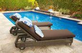 Wat voor soort weefsel te gebruiken voor Outdoor stoel kussens?